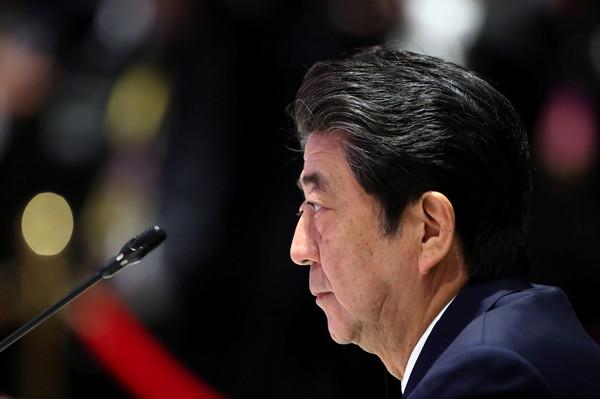 ▲▼日本首相安倍晉三。(圖/路透)