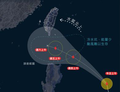鳳凰颱風最新路徑曝!不排除發海警