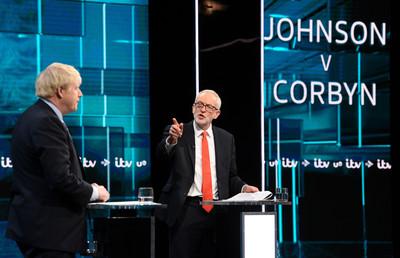 英電視辯論 兩黨領袖支持度各半