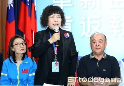 葉毓蘭駁斥「挺港警」:我挺所有警察攜手打擊犯罪