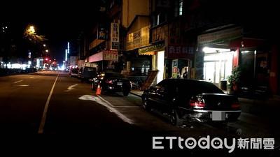 BMW清晨連撞4車落跑!駕駛拐進巷弄被拍下