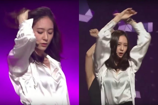 Krystal「金唱片傳奇舞台」只練一小時 幕後細節曝光網震驚:天生愛豆!