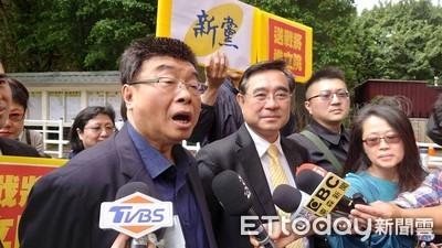 郭冠英現身中選會 自稱「代表中共監督台灣省選舉」