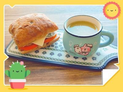 減重早餐3步驟備料!DIY雞胸肉恰巴達 「神配料」番茄狂鏟肉
