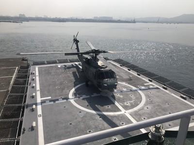 影/S-70C反潛直升機落艦成功! 海巡建置空中兵力寫下歷史