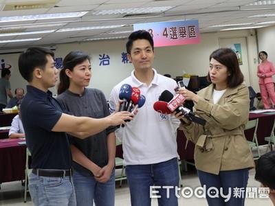 吳怡農指藍營前輩 蔣萬安:期待正面選舉