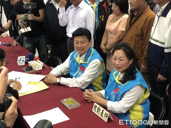 ▲▼傅崐萁登記參選2020立委。(圖/記者蕭可正攝)