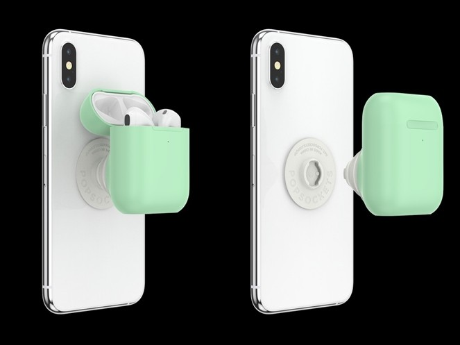 ▲PopGrip AirPods Holder。(圖/翻攝自PopSockets)