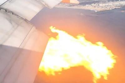 菲航班機「引擎噴火冒煙」緊急迫降