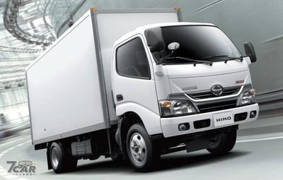 Fuso FB、Hino 300總重提昇至5噸!小貨車提升載重合法上路