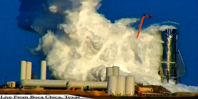 SpaceX「星船MK1」測試氣槽爆炸 直接報廢研發新品