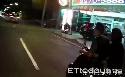 警攔查違規騎士...驚見乘客抱著滿頭是血的3歲女童