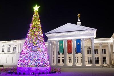 奇美博物館13公尺聖誕樹搶先看