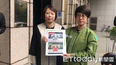 政黨票文宣遭變造 李晏榕赴刑事局提告