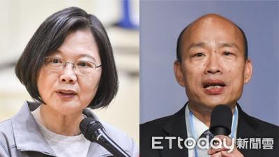 蔡英文接連拋補助政策 韓陣營:急了?一直跟隨韓國瑜