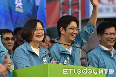 蔡英文:從台灣頭贏到台灣尾