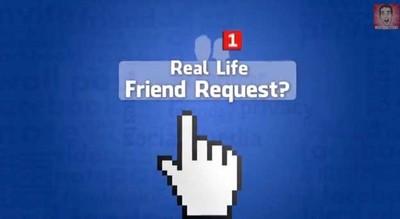 當臉書交友真實化,會是什麼樣子呢?