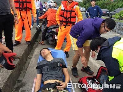 男子宜蘭內埤海域溺水 休假消防員翁尚汶救回一命