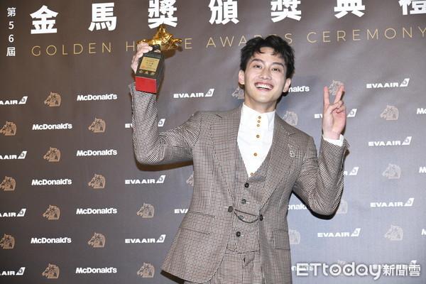▲第56屆金馬獎,最佳新演員范少勳。(圖/攝影中心)