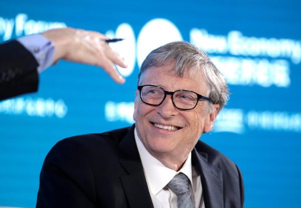 ▲▼奪回世界首富榜的比爾蓋茲(Bill Gates)。(圖/路透)