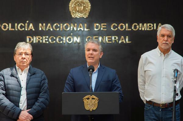 ▲哥倫比亞總統杜克(Iván Duque)(圖/路透)