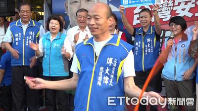 韓國瑜稱大陸無法操縱香港選舉 柯文哲:是操控失敗