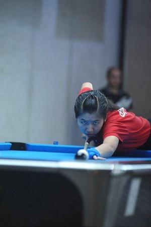 ▲7歲呂翊瑄奪世青撞球錦標賽冠軍。(圖/中華撞球總會提供)