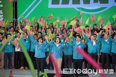 蔡英文:支持與嘉義市民生活在一起的王美惠