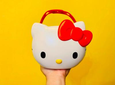 泰國麥當勞萌萌Kitty萬用置物籃