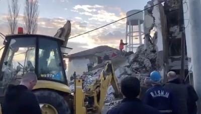 阿爾巴尼亞6.4強震6死325傷