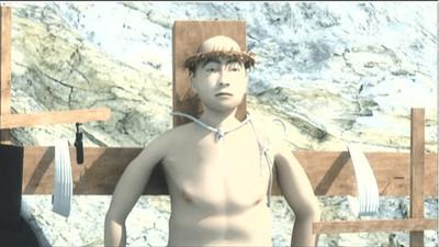 模仿耶穌受難?韓男釘死十字架上 警方驚:他自己一根根釘上去