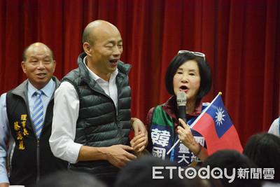 曾揚言「他選上我頭剁下來」 恬娃現身韓國瑜座談會