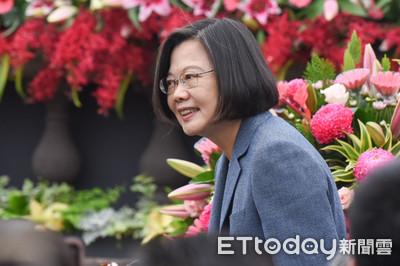 蔡英文:韓國瑜把第一名直轄市做到墊底