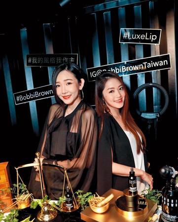 之前林千又(右)與許允樂(左)一同出席時尚活動,兩女的共通點就是都跟趙元同傳過曖昧。(翻攝自林千又IG)