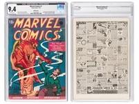 收藏近80年的漫威漫畫 拍賣價3800萬成交
