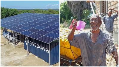 每天走1小時取水 肯亞建「太陽能海水淡化廠」 村民擺脫用髒水洗澡