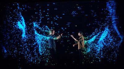 歌劇院浮空投影、4D Box智慧舞台