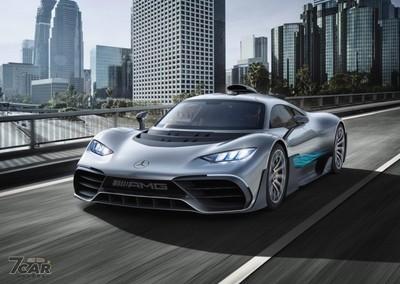 賓士道路版 F1 賽車2021年交車