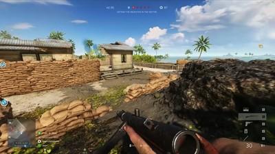 《戰地風雲5》太平洋戰爭試玩