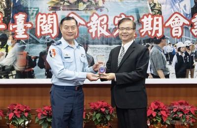 臺閩戰綜會報統合建構堅實戰力