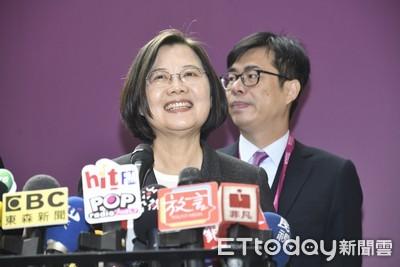 韓國瑜邀辯論又酸小英唸讀稿機 蔡英文:他還逃避議會質詢