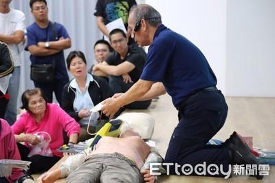 把握黃金救援 台東全民CPR1萬4千人完訓