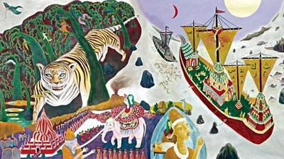 幻想現實分不清!暗黑大師作品《高丘親王航海記》 日本皇子被老虎吞掉