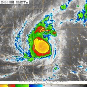 北冕颱風對流爆發「衝強颱時間點」曝