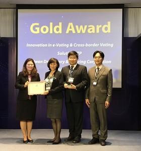 集保所「電子化」再獲國際殊榮