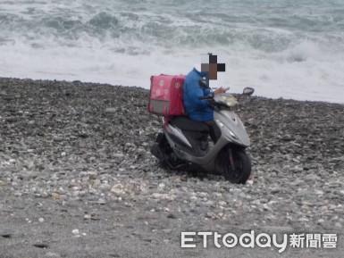 西部熊貓外送員支援台東受困海灘