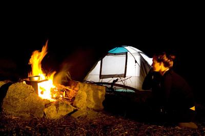 男露營撞到頭 深夜闖進森林身亡