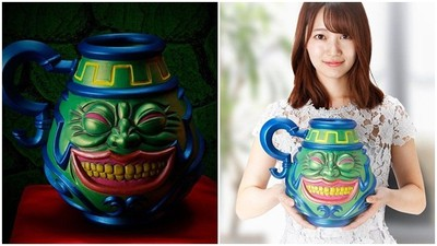 猥瑣笑容說我全都要! 《遊戲王》禁卡「強欲之壺」開賣實體陶器
