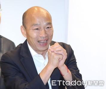 韓國瑜:學者應擔心為何台灣假民調滿天飛
