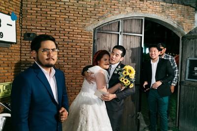 新娘邀歷任男友吃喜酒